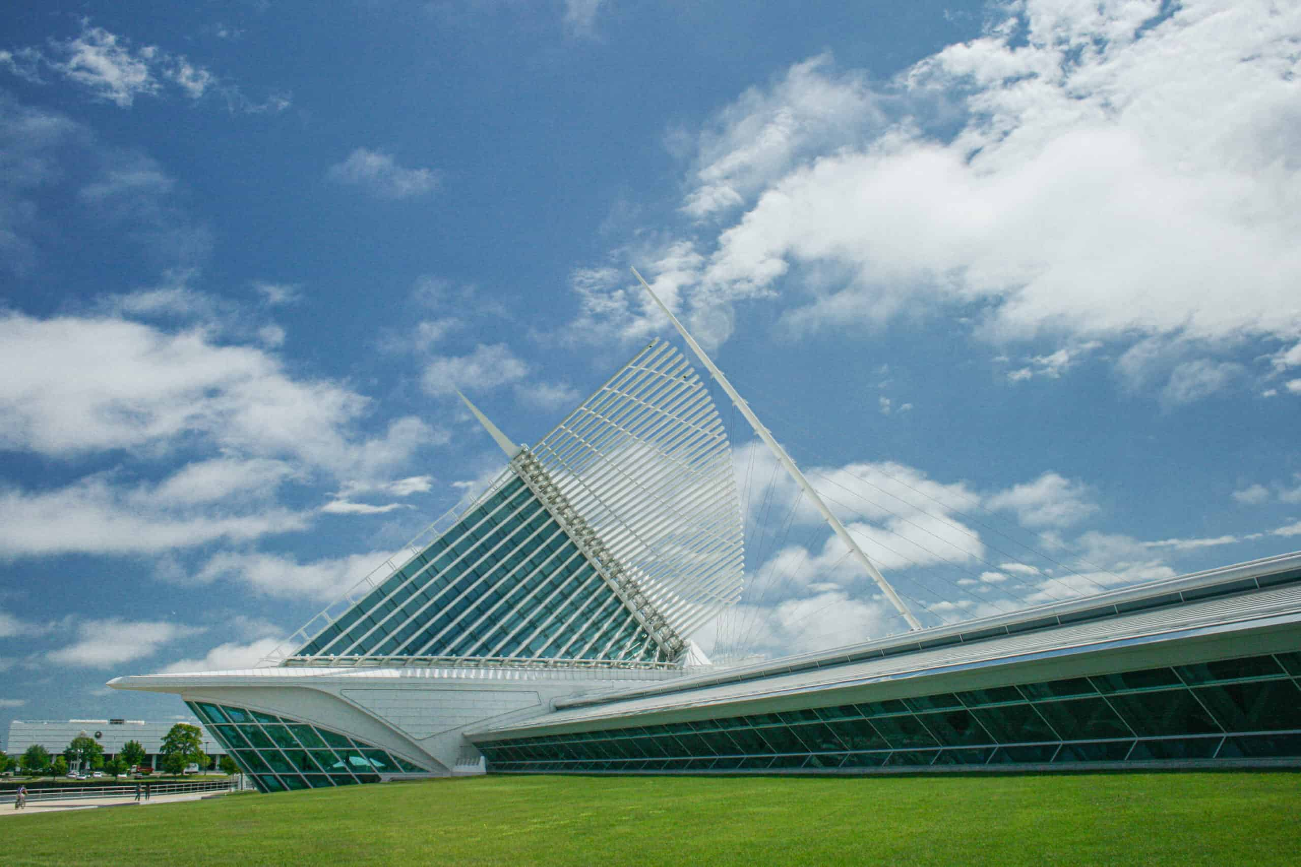 美術館全貌-密爾瓦基博物館